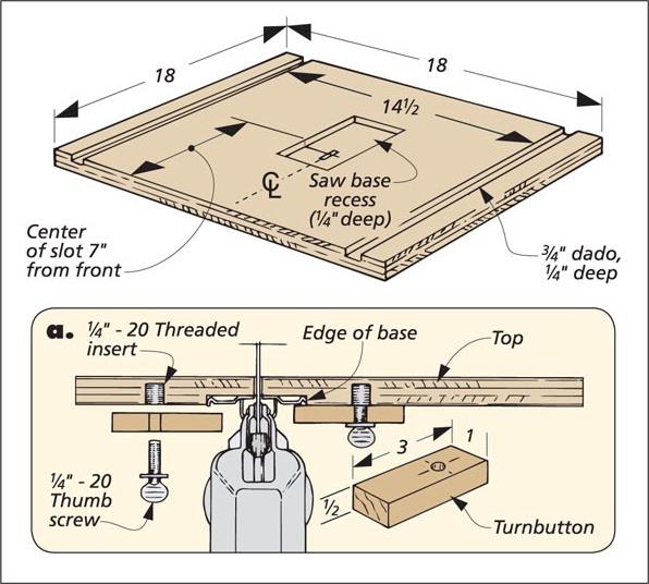 Jig Saw Table Woodsmith Tips