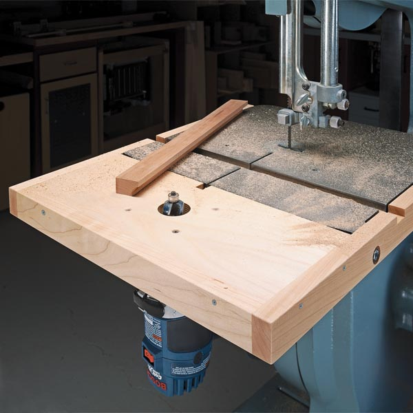 Compact Router Table Woodsmith Tips