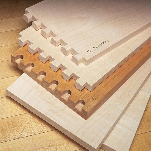 Dovetail jig secrets woodsmith tips for Dovetail template maker