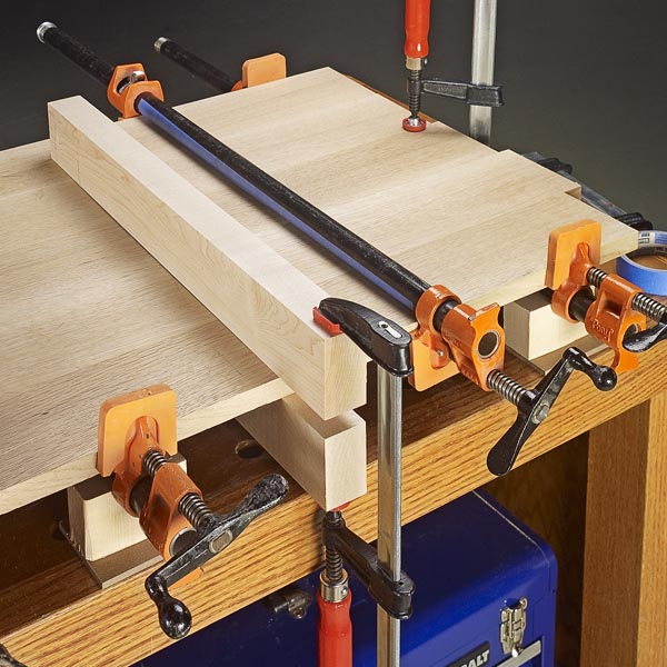 Pipe clamp tricks woodsmith tips