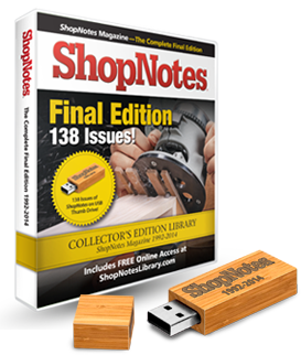 ShopNotes Back Issue Library DVD