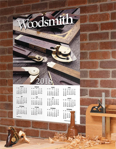 Woodsmith 2018 Calendar