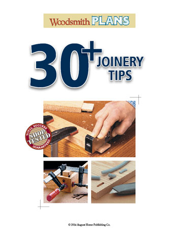 30+ Joinery Tips
