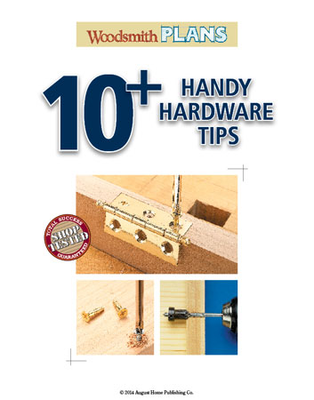 When it comes to installing hardware, you're almost done with the project...  Here are some tips on getting great results.