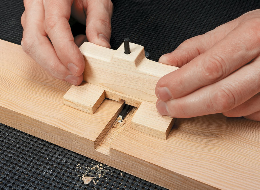 An easy-to-master, three-step technique and simple tools are all it takes to consistently produce accurate mortises.