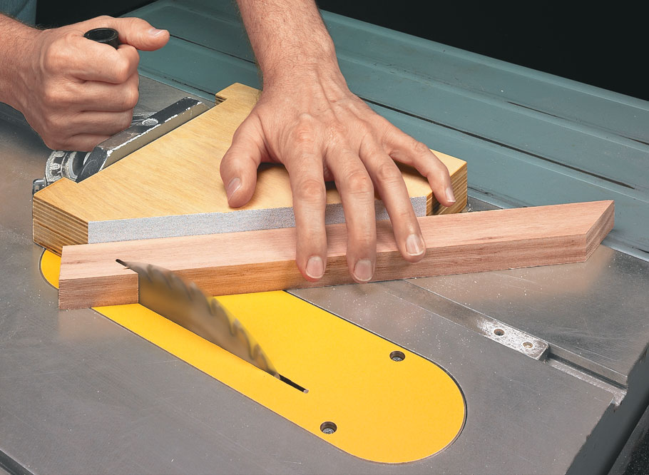 With the right technique, all it takes is an afternoon to make a set of zero-clearance inserts to get cleaner table saw cuts.