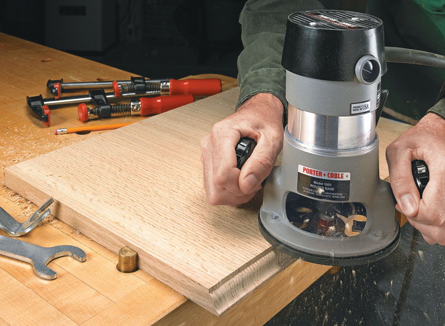 A router, some bits, and these simple, shop-tested techniques are all you need to bring a little character to a woodworking project.