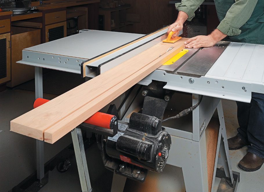This technique collection contains everything you need to know for safe and accurate rip cuts on your table saw every time.