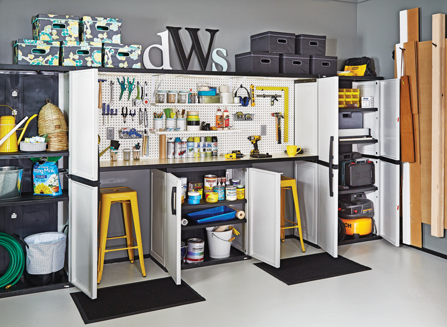 With this plan, transforming your garage into the DIY workspace you've been dreaming of doesn't have to be difficult or expensive.