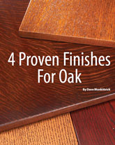 4 Proven Finishes for Oak: