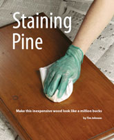 Staining Pine: