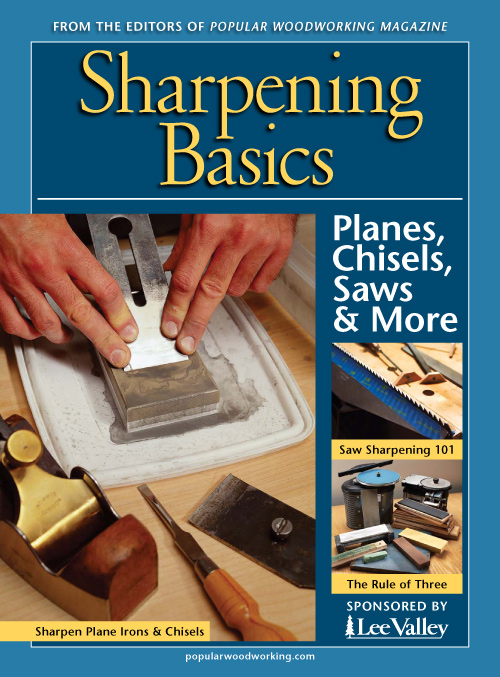Razor sharp tools improve the experience, result, and safety of woodworking projects. Learn the proper sharpening techniques for your chisels, plane irons, and saws - take care of your tools. Download now!