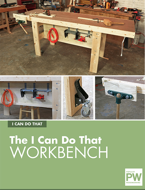 Download the full project plan for this easy-to-build workbench from Popular Woodworking's