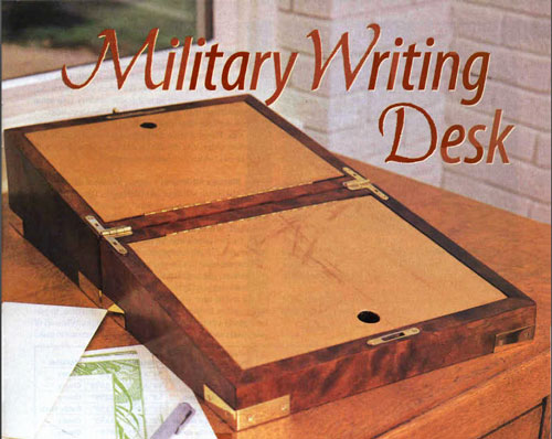 Military Writing Desk