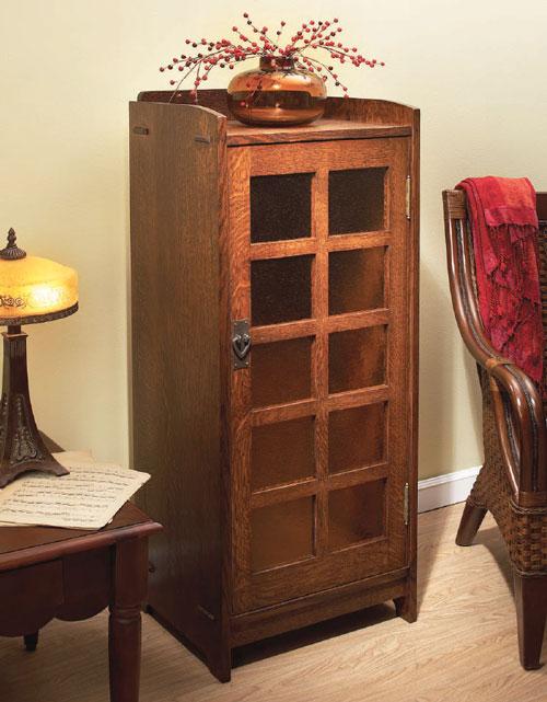 Stickley Music Cabinet
