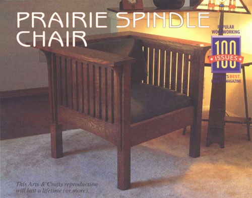 Prairie Spindle Chair
