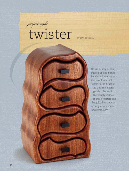 Twister Jewelry Box