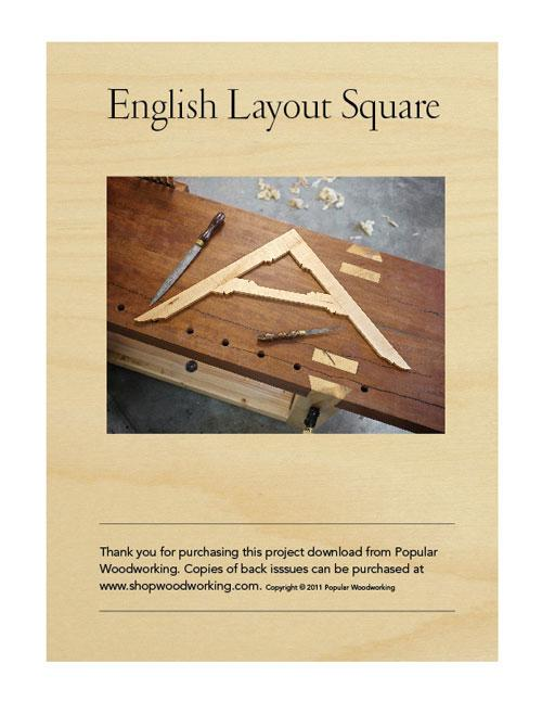 English Layout Square