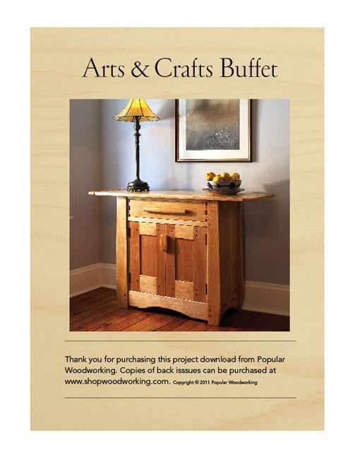 Arts & Crafts Buffet