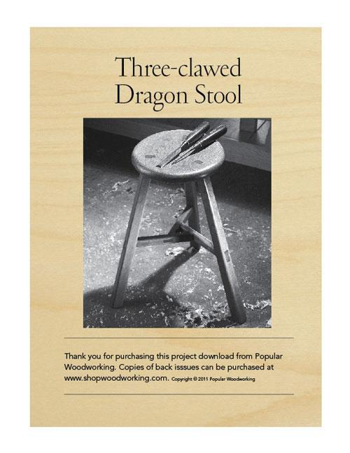 Three Clawed Dragon Stool