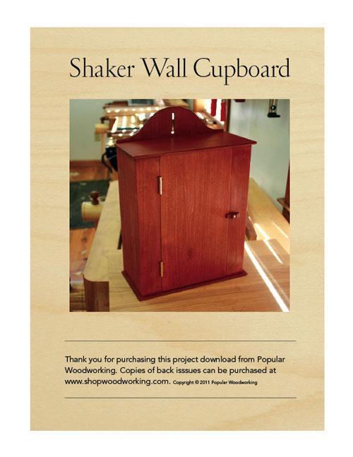 Shaker Wall Cupboard