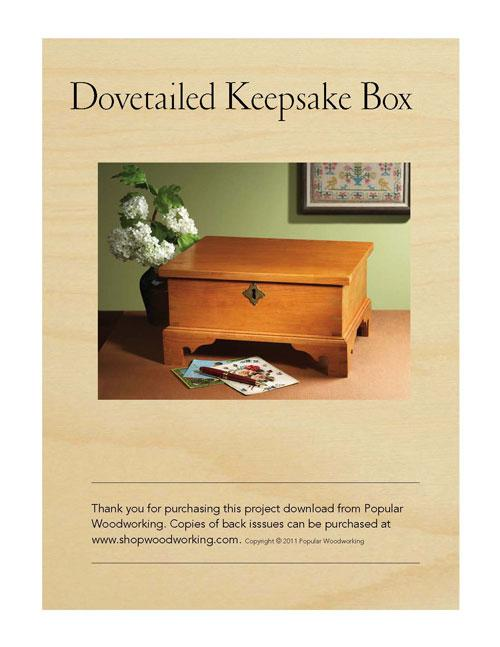 Dovetailed Keepsake Box