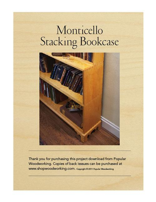 Monticello's Stacking Bookcases