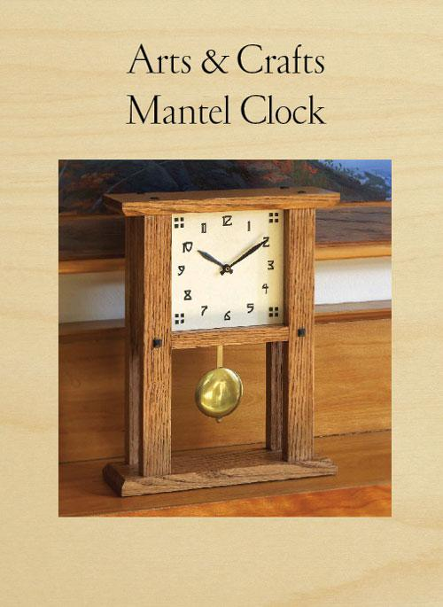 Arts and Crafts Mantel Clock