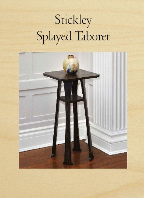 Stickley Splayed Taboret