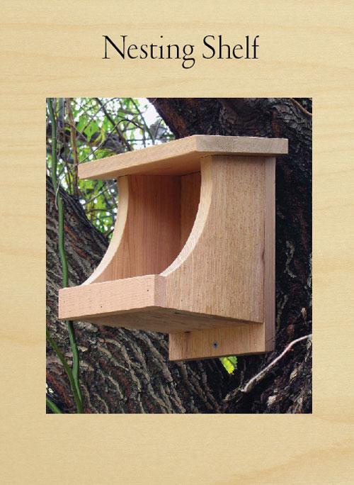 Bird Nesting Shelf