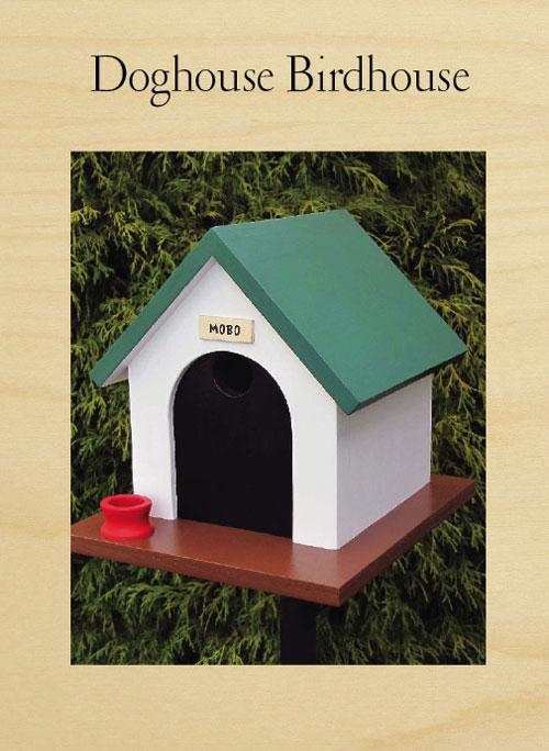 Dog Birdhouse