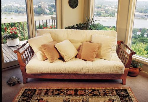 Some people call them futons but we prefer the more comfy-sounding
