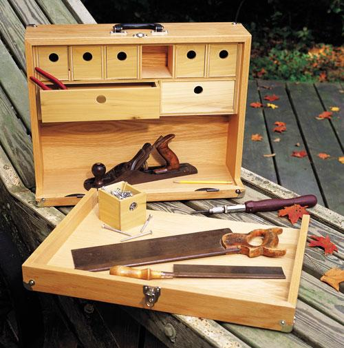 If you're looking for the ultimate in handy-dandy tool chests, this one will surely fit the bill.
