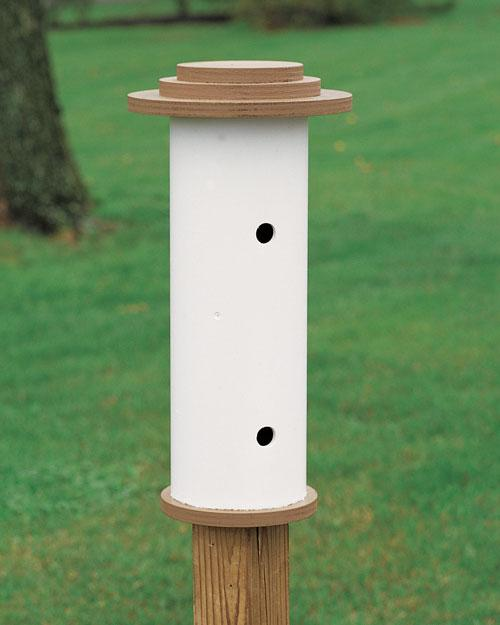 Pygmynuhatch Pipe Birdhouse