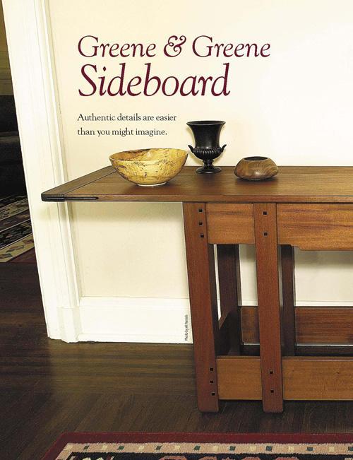 Greene & Greene Sideboard