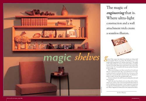 Magic Shelves