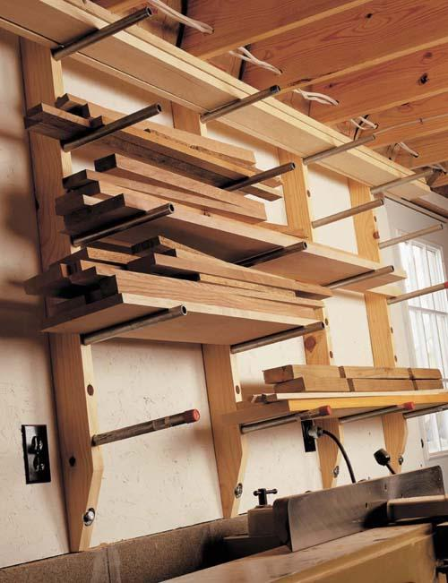 $30 Lumber Rack