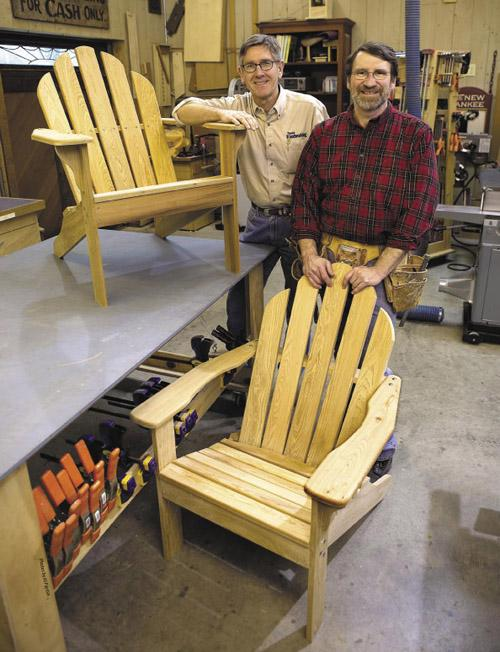 Norm Abram S Adirondack Chair Woodworking Project Woodsmith Plans