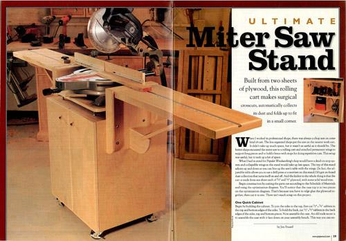 Miter Saw Stand