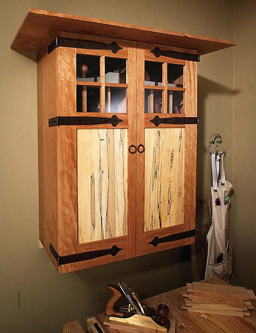 Arts & Crafts Tool Cabinet