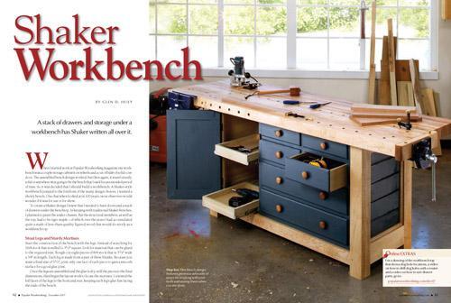 Shaker Workbench