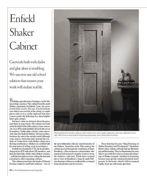 Enfield Shaker Cabinet