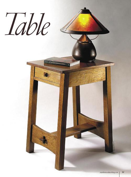 The Lost Stickley Side Table