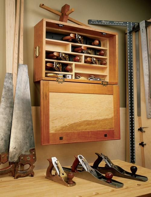 Hand Plane Cabinet