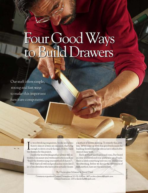 Four Good Ways to Build Drawers