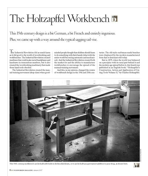 The Holtzapffel Workbench