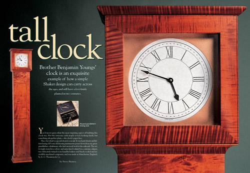 Benjamin Young's Tall Clock