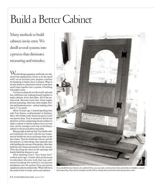 Build a Better Cabinet