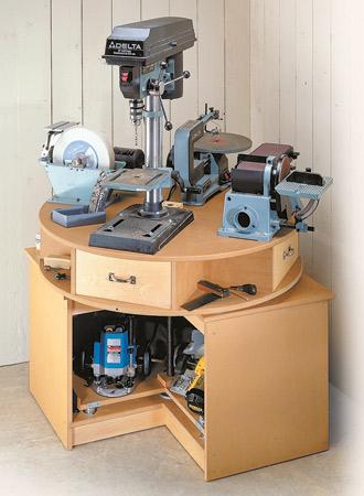 Revolving Tool Station