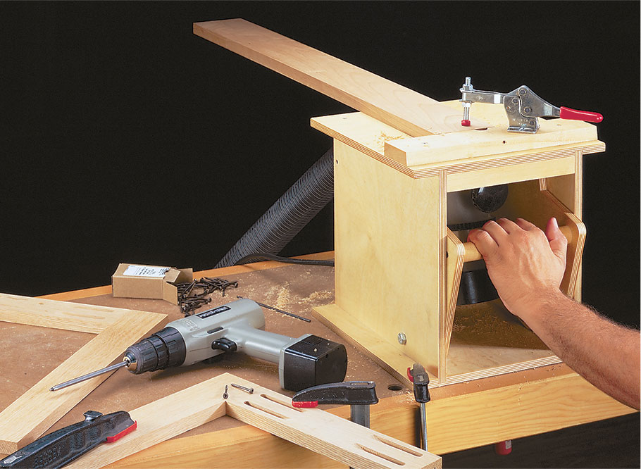 Creating clean, crisp pocket holes couldn't be simpler. This jig is easy to build with a day in the shop.